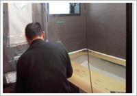 浴槽の設置