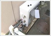 給湯器の配管、配線