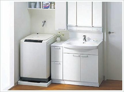 洗面台リフォーム例